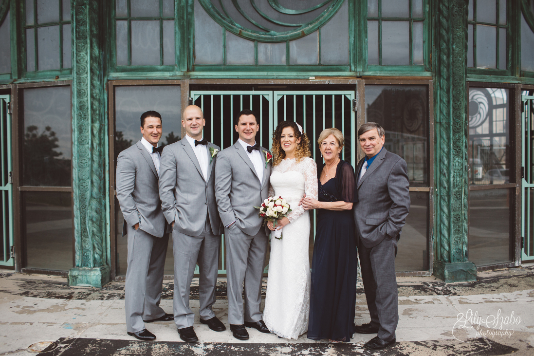 Asbury park watermark wedding