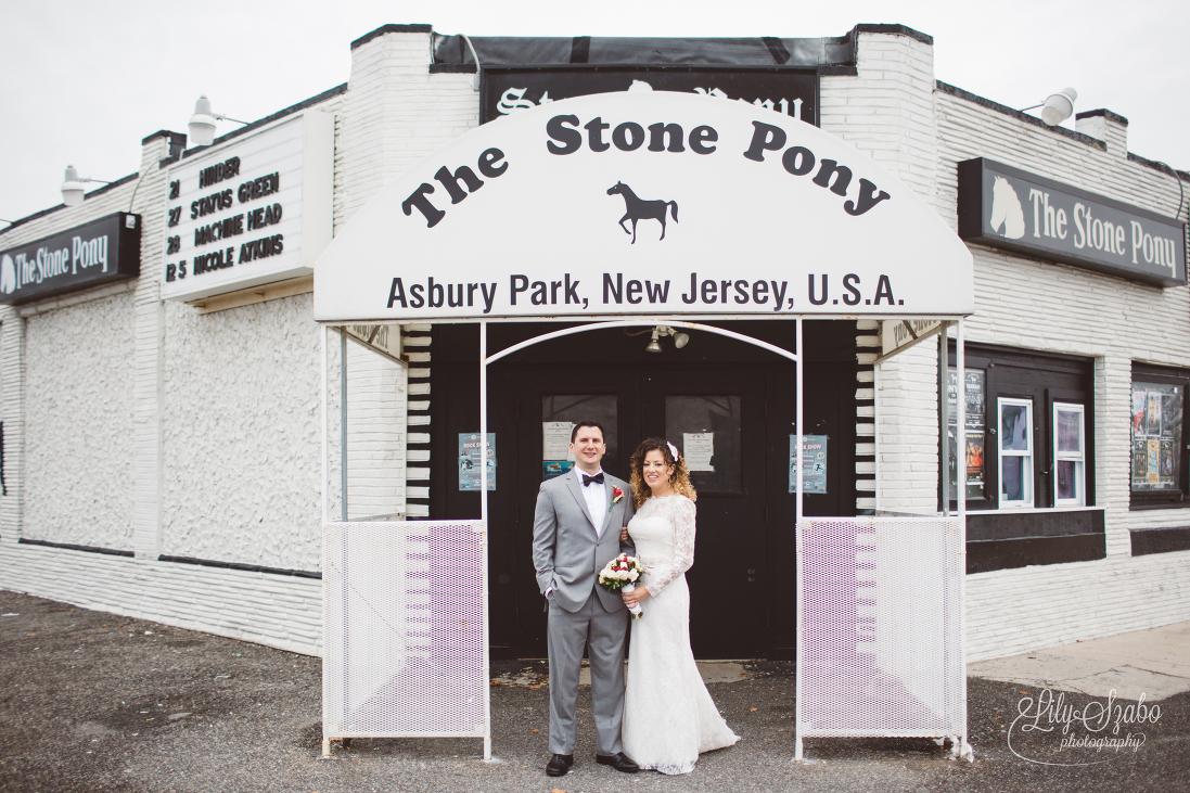 Asbury park watermark wedding