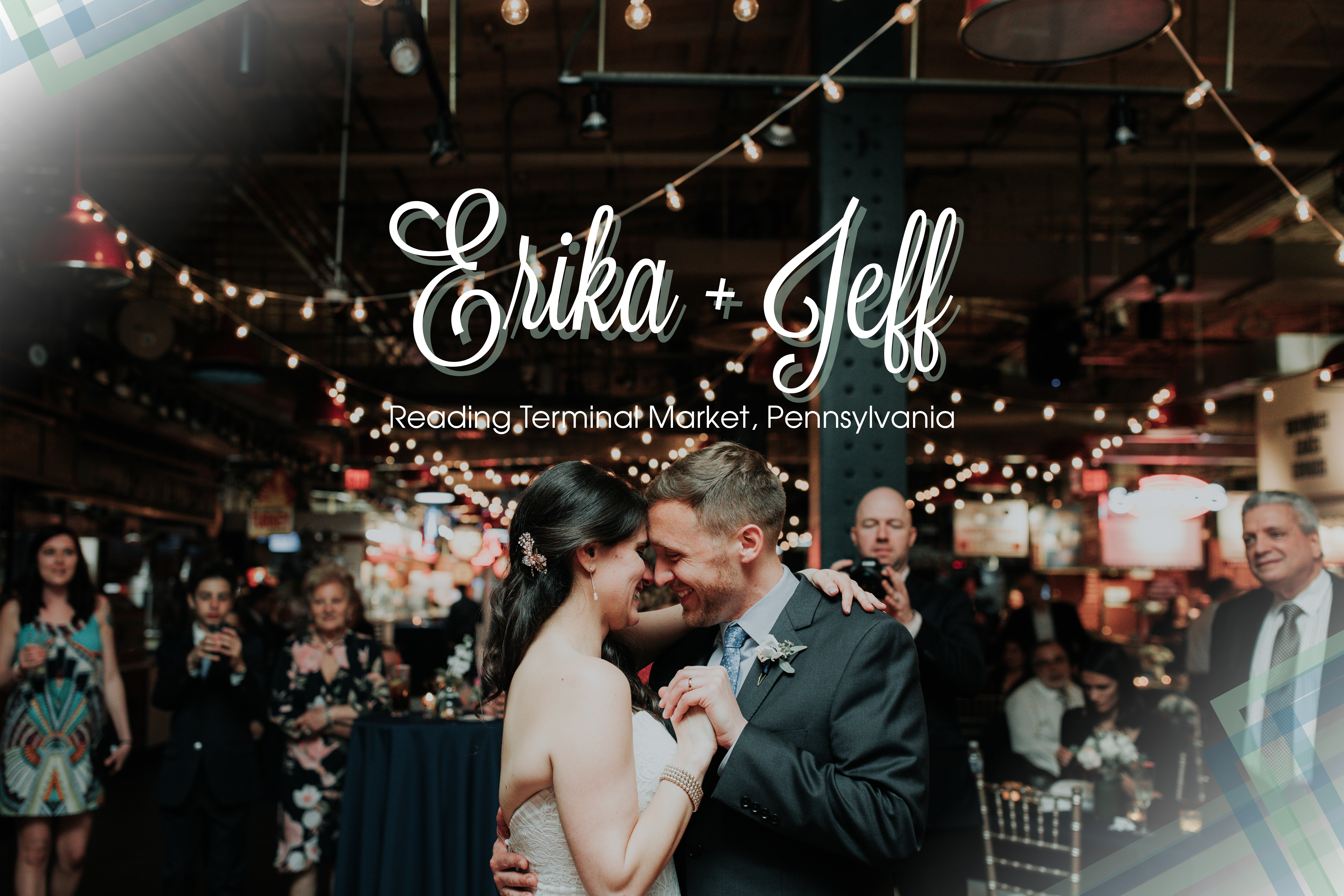 Erika Jeff Wedding In Reading Terminal Market Pa Lily Szabo